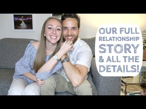 ALL ABOUT OUR RELATIONSHIP // a Catholic love story