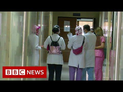 Venezuela: 'Forced to work' as medics fighting Covid - BBC News