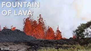 Fountain of lava: See the latest video from Hawaii volcano Kilauea