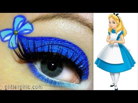 Alice in Wonderland Makeup tutorial!