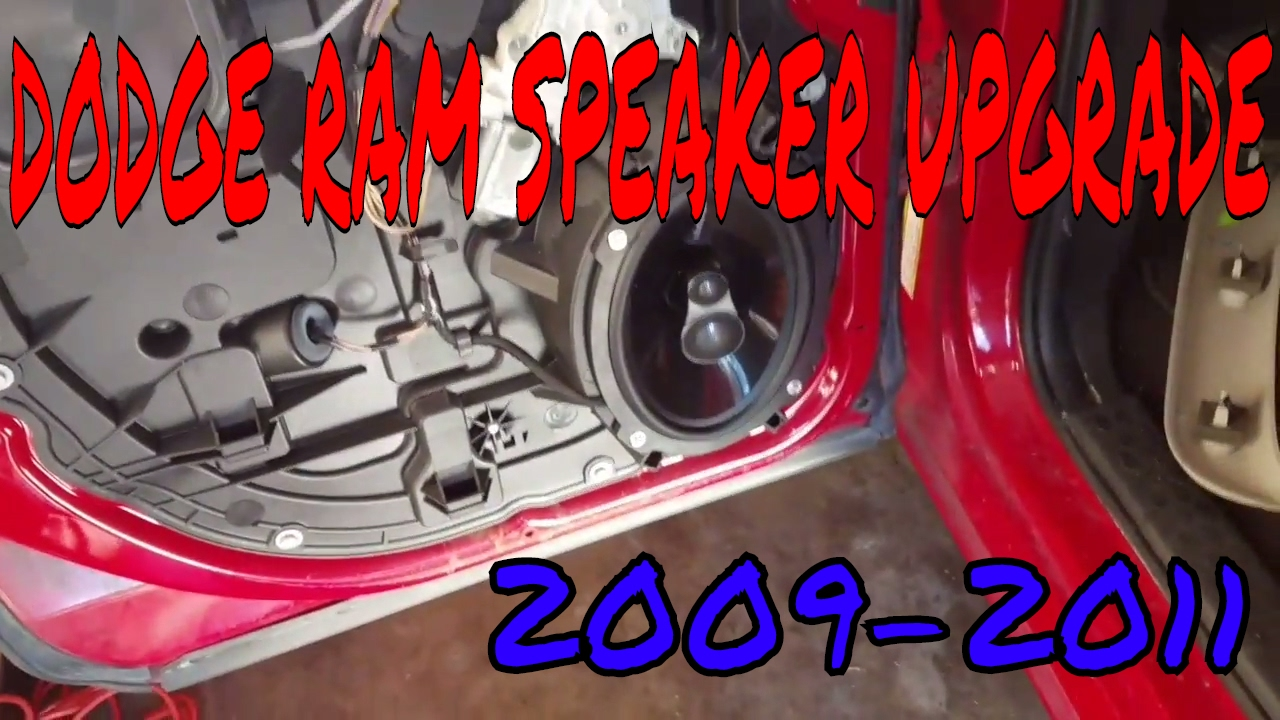 dodge ram speaker upgrade [ 1280 x 720 Pixel ]
