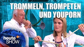 DIY Musikinstrumente – Hazel Brugger bastelt mit Wolfgang Kubicki