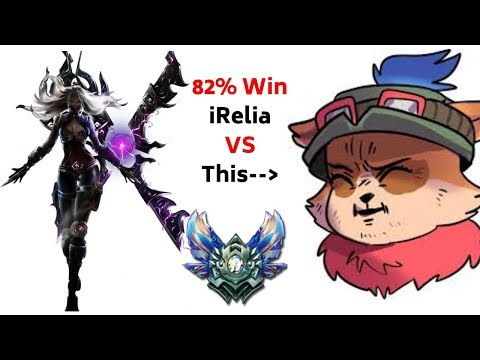 Facing 82% win Irelia. Electrocute tryout - Teemo vs [Irellia Match] v8.24b