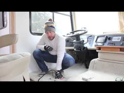 How to Remove the Captains Chair from RV