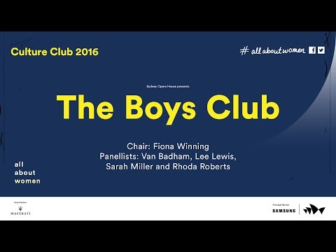 The boy's club: Panel, All About Women 2016