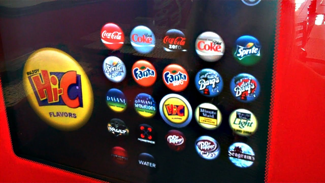 Free Coca-Cola Freestyle Drinks (Day 696 - 10/21/11)
