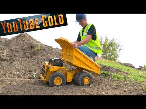 YouTube GOLD - Eps. 16 797F Haul Truck is on SITE - NOT Your Average Mining Show | RC ADVENTURES