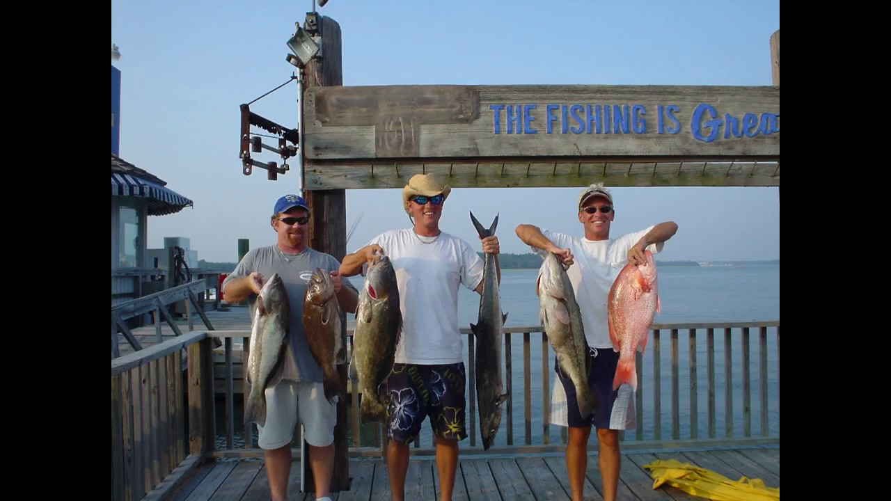 Hilton head fishing outcast sport fishing youtube for Outcast sport fishing