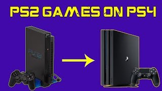Play PS2 Games on PS4 - Convert PS2 Games in PKG For PS4