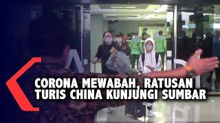 Di Tengah Ancaman Virus Corona, Ratusan Turis China Kunjungi Sumatera Barat