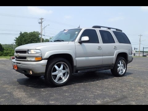 2005 chevrolet tahoe lt z71 for sale dayton troy piqua sidney ohio cp14429at youtube. Black Bedroom Furniture Sets. Home Design Ideas
