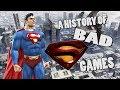 A History of Bad Superman Games