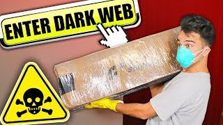 I Bought a Mystery Box from Dark Web & It Goes TERRIBLY WRONG! Deep Web 3AM Challenge!