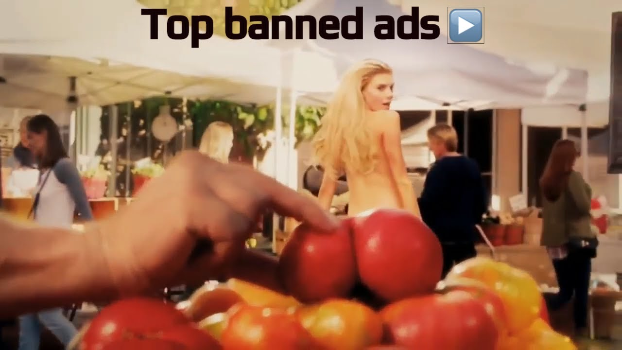 Banned adult commercials