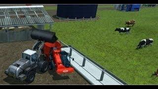 Farming Simulator 2013 (Feeding cows) HD(, 2012-11-03T21:38:23.000Z)