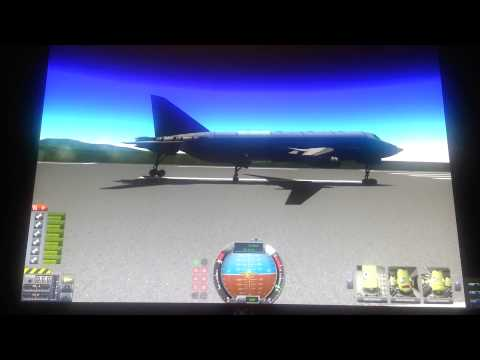 Yes I know how to fly a jet!( Ksp)