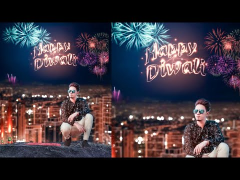 Picsart Manipulation Diwali editing, Diwali Photo Editing in Picsart , Photo Editing Tutorial thumbnail