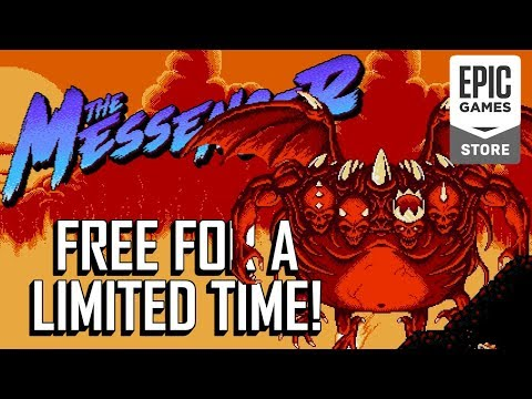 The Messenger Is Free On The Epic Games Store For A Limited Time!