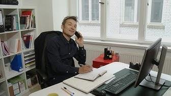 Kundenkontakt am Telefon - Telefonakquise - Positivbeispiel