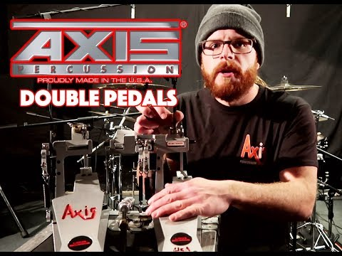 Trying My New Axis Double Bass Drum Pedals (Review and Performance)