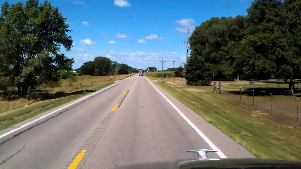 Fremont, Nebraska on US Highway 30 West - YouTube