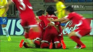 Hae Yon RI (PRK) - Brazil v. Korea DPR