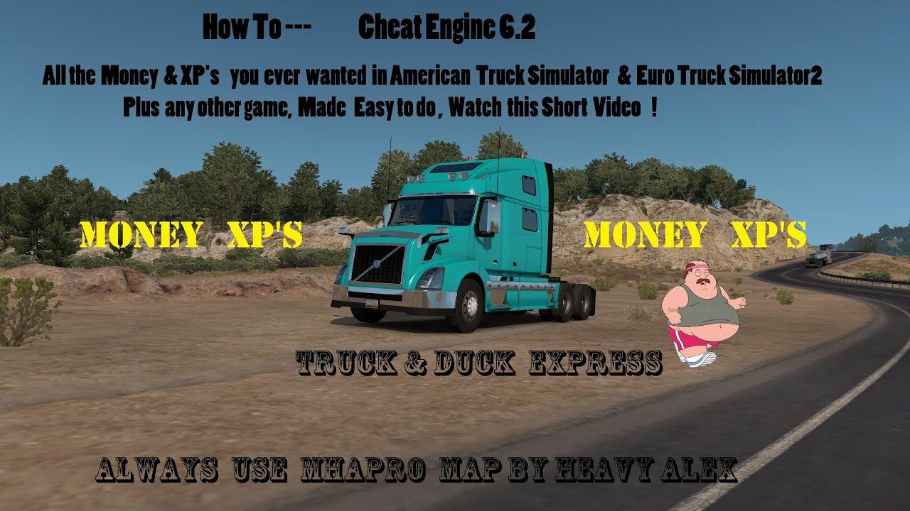 american truck sim cheats