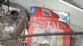 Urbex Abandoned asbestos board mill.