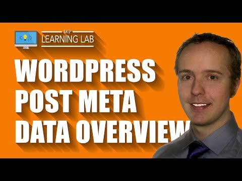 WordPress Post Meta Data - What It Is & Where To Find It In The Database - 동영상