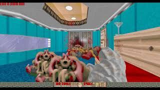 Doom Vacation (Map04: The Wavemistress) (100% Secrets)