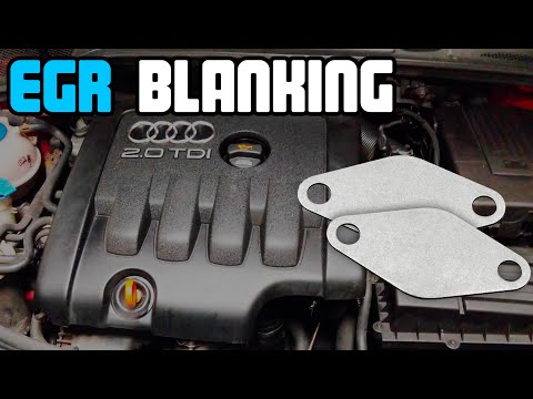 EGR Blanking + EGR Cooler Delete On Audi A3 2.0 TDi