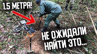 Одной находкой окупил дорогой металлоискатель Этот странный лес полон удивительных находок