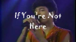 Menudo - IF YOU'RE NOT HERE - Solid Gold
