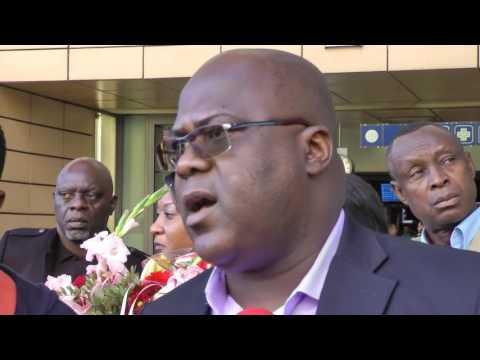 Félix Tshisekedi depuis BXL, élections ou pas, le 31.12.2017  Kabila part