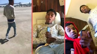 NBA YoungBoy Balling Out On Private Jet With Never Broke Again Crew and NBA YoungBoy Speaks (2018)