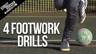 4 FOOTWORK DRILLS | To help improve Control and Speed