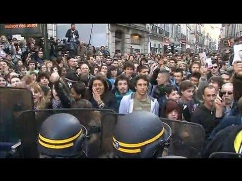 Nicolas Sarkozy chahuté à Bayonne par des autonomistes