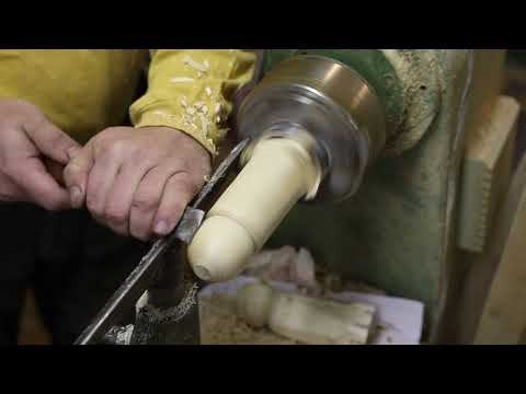 Turning with a regular woodworking chisel