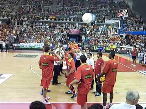equipacion de la seleccion española de baloncesto