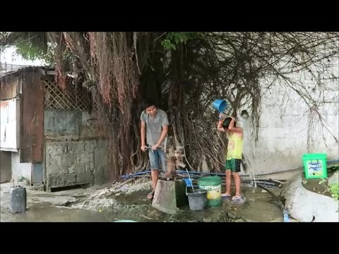 Squatter's village Water Well ~ Follow up on a pump I installed ~ Iloilo City Philippines