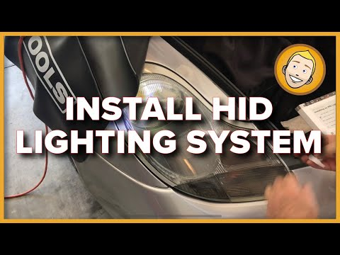 How to INSTALL AN HID LIGHTING SYSTEM on a Porsche Boxster 986 (Project 84)