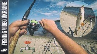 Фидерная рыбалка на Газопроводе | Осенний фидер | FishingVideoUkraine