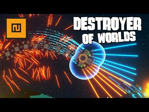 The Destroyer of Worlds | NIMBATUS - The Space Drone Constructor Gameplay