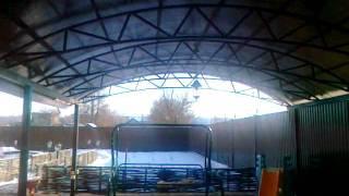 Навес из поликарбоната(, 2012-02-02T06:49:43.000Z)