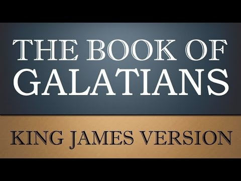 Epistle to the Galatians - Chapter 1 - KJV Audio Bible