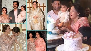 Hema Malini 70th Birthday GRAND Party With Family And Friends