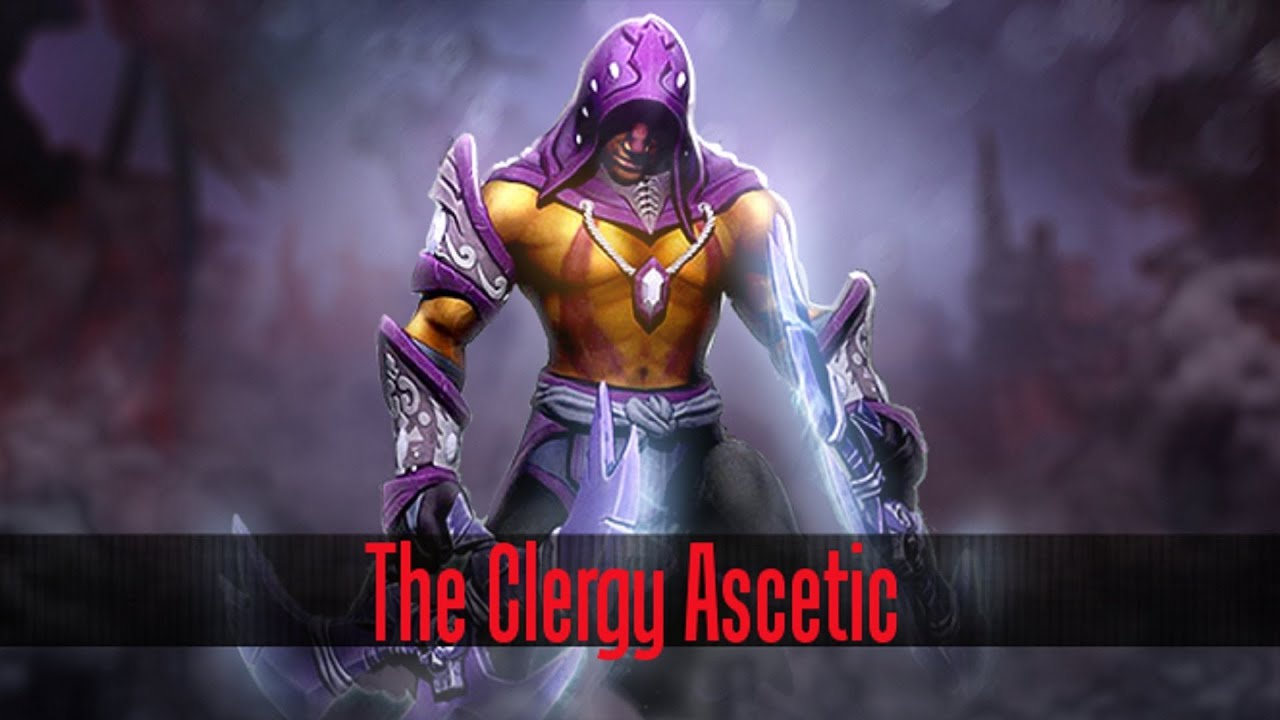 dota 2 store anti mage the clergy ascetic set youtube