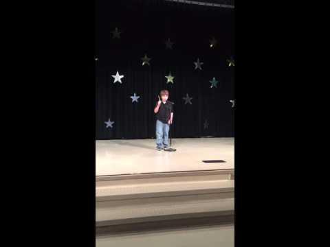 Evans magic show. Riverchase Elementary School. 5/5/2016