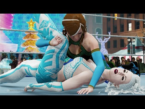 Anna vs. Ice Queen (WWE 2K20) - Frozen Match 😍