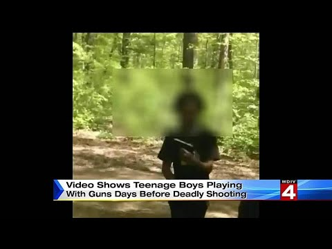 Video shows teenage boys playing with guns before deadly shooting